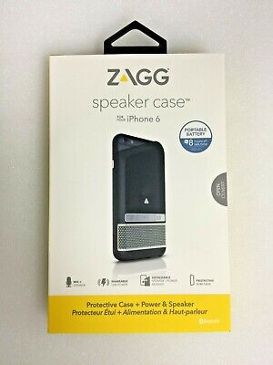 New ZAGG Speaker Case for Iphone 6