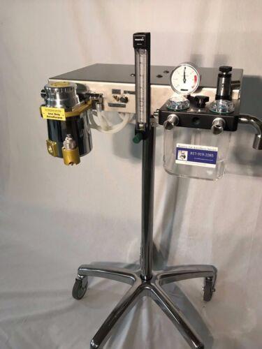 Anesthesia Machine & Sevoflurane TEC 3 Vaporizer - Veterinary  **** ALL NEW ****