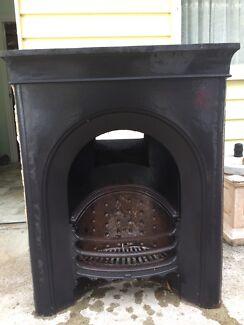 Victorian  Edwardian chimney fireplace insert