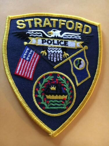 Stratford New Hampshire Vintage Police Patch