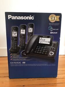 Panasonic home phones and answering machines