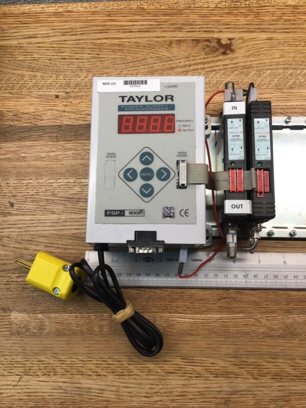 Taylor Power Supply Programmer & Channel Converter Coaxial Satellite WORKING NN2