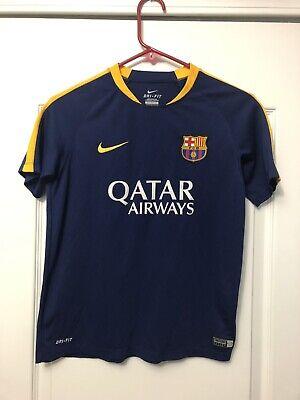 Neymar JR FC Barcelona Nike DRI-FIT Flash Junior Training Top Youth (Neymar Jr Height)