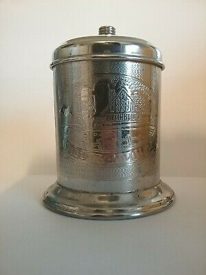 Vintage Tea Caddy silver plated