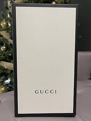 Gucci 2019 100% Authentic Empty Pursuit Slides Box Best Price! Free