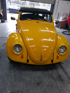 Lovely vw beetle convertible 1962
