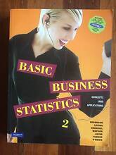 Basic Business Statistics: Second Edition Collingwood Yarra Area Preview