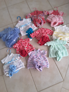 Baby born doll knitted outfits Rockingham Rockingham Area Preview