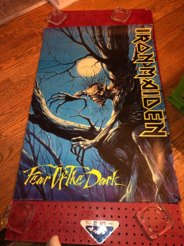 "Iron Maiden ""Fear Of The Dark"" 1992 Album Art Promo Poster"