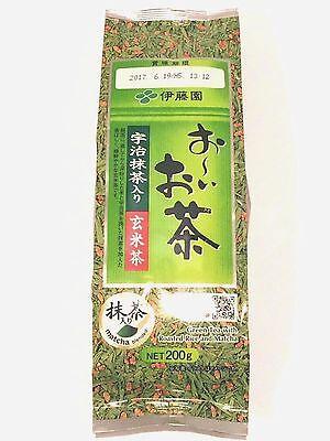 200g Japanese green tea Oi Ocha Itoen Uji Matcha roasted rice Genmaicha Japan !