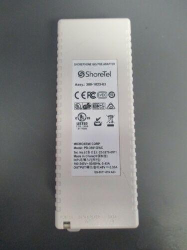 ShoreTel  PD-3501G/AC Shore Phone Gig POE Adapter 300-1023-03 USED