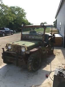 1949 Willys Jeep CJ3A