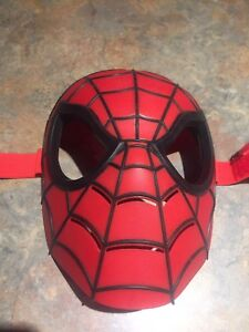 Kids Child Spider-Man mask $10 Velcro strap to fit all