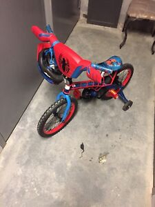 Spider man bicycle