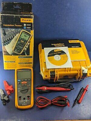 Fluke 1507 Insulation Tester Meter Multimeter Megger Megohmmeter New