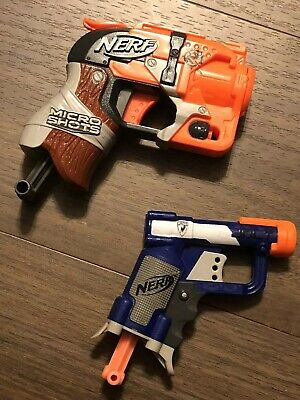 Nerf Gun Lot 2 Toy Dart Guns 1 Micro Shot