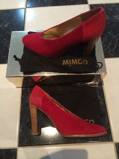 Wanted: Mimco Coco Pump Scarlet Shoes