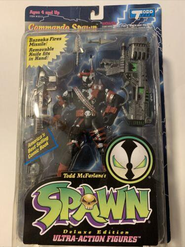 1995 McFarlane Commando Spawn Deluxe Edition Ultra Action Figure  - $9.99