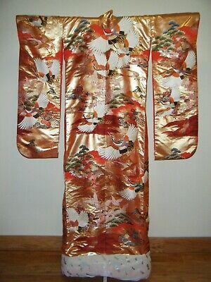 Authentic Designer Kansai Yamamoto Japanese Uchikake Wedding Kimono