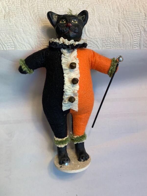 "Bethany Lowe Black Cat 10""  Halloween Figure"