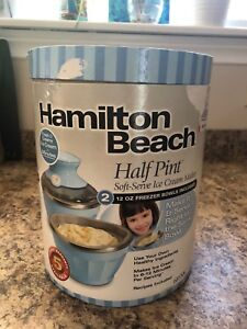 Hamilton Beach Soft Serve Ice Cream Maker