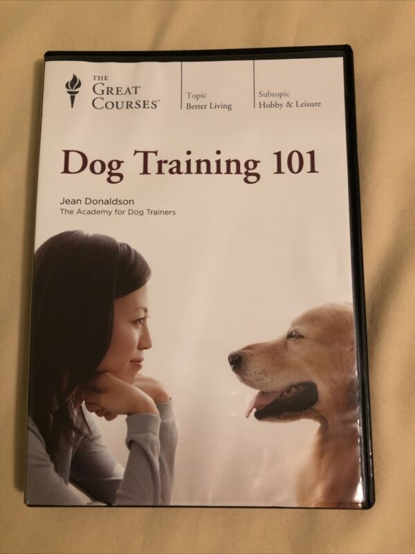 Dog Training 101 (4 disc DVD set, 2018) with Course Guidebook, Great Courses