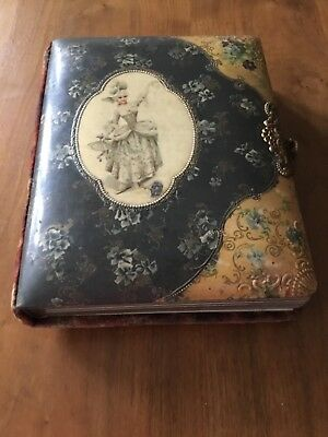 Vintage photo album circa 1900. Good condition for its age.