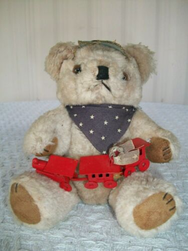 """Old Bears Repeating ~ Limited Edition #353/1000 ~ Toot 3 ~ with Tag ~ 7"""" Tall"""