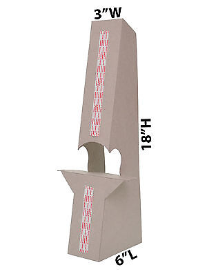Cardboard 18 Double Wing Easel Kraft Lot Of 10 Wholesale