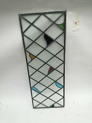 Stained glass leaded windows / glass only (Set 10)