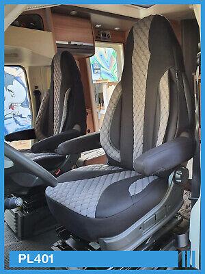 Fiat Talento Maß Front Einzelsitzbezüge Fahrer Beifahrer Sitzschoner