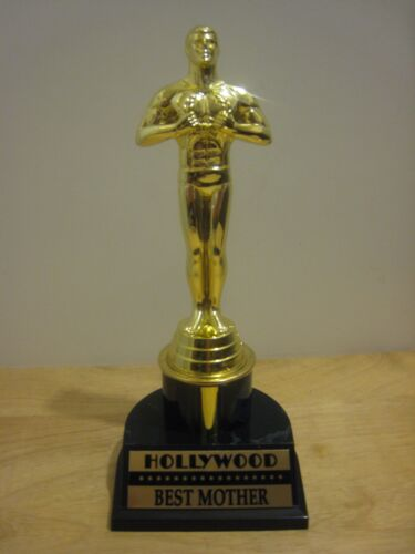HOLLYWOOD AWARD MOVIE FAMOUS OSCAR TROPHY - MOM,DAD,GIRLFRIEND,BOYFRIEND