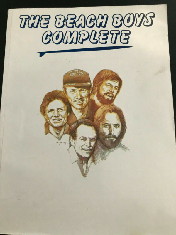 The Beach Boys Complete - songbook - Piano/Vocal/Guitar
