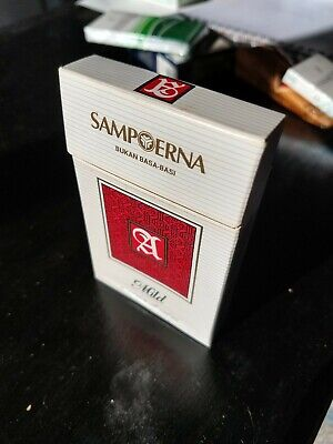 RARO 14 Cigarrillos INDONESIA Paquete de Tabaco Sampoerna