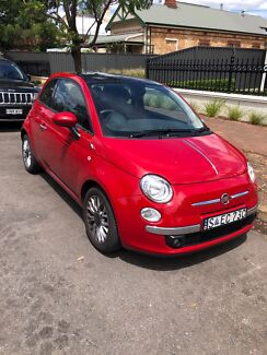 Fiat 500c 2015 Wayville Unley Area Preview