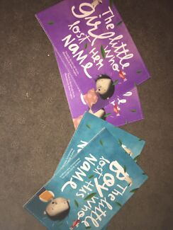 personalised books for: Maggie, Taylor, Brodie & Byron NEW Middle Park Brisbane South West Preview