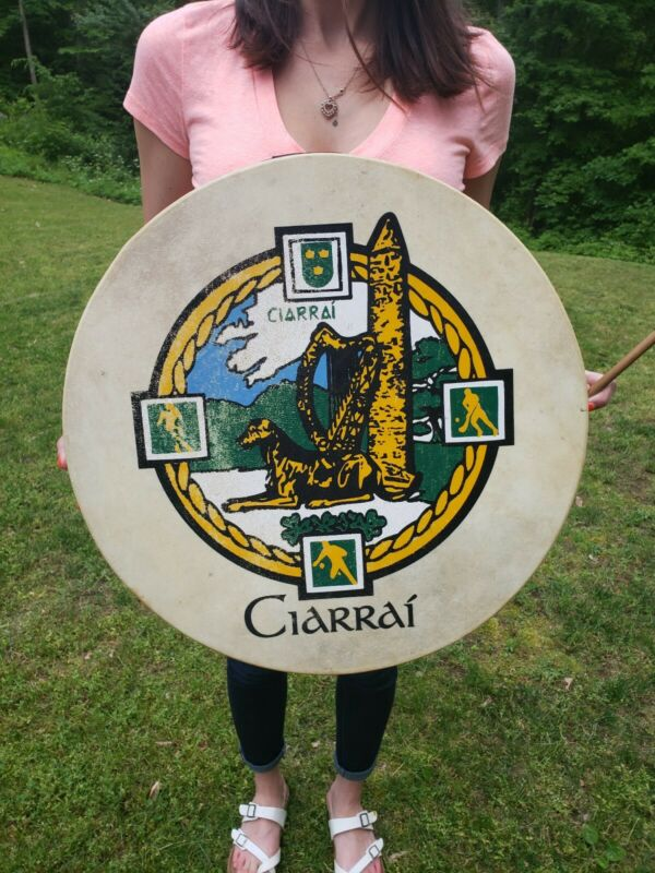 Vintage Ciarrai ireland Tambourine socker rugby sports