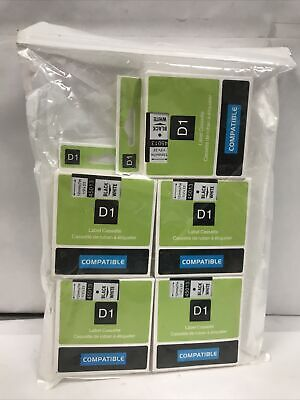Label Tape 45013 S0720530 For Dymo Labelmanager 160 280 420p 5-pkpack D1
