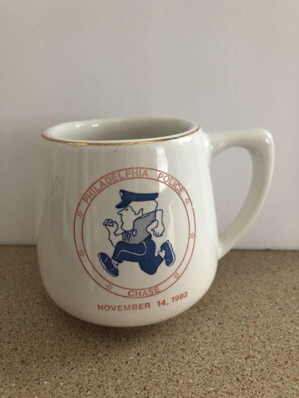 "Vintage ""Philadelphia Police Chase"" November 14, 1982 Mug"