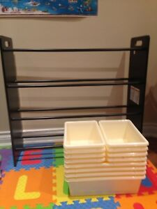 sort and store toy organizing shelves