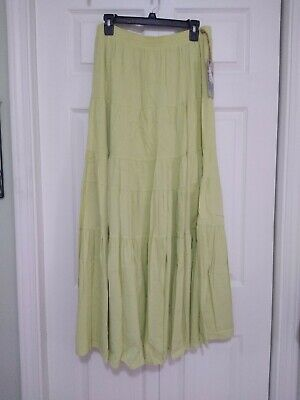 Desert Diva Lime Green Skirt XL