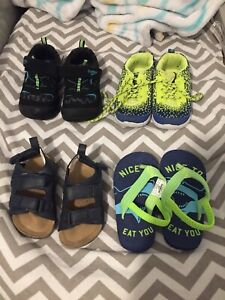 Baby shoes & sandals size 5