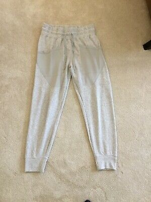 Puma Grey Size M Sweat Pants Ladies Jogging Bottoms Activewear Bottoms