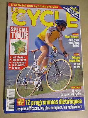 LE CYCLE N°281 : JUILLET 2000 : GUIDE DU TOUR DE FRANCE AVEC CARTE POSTER