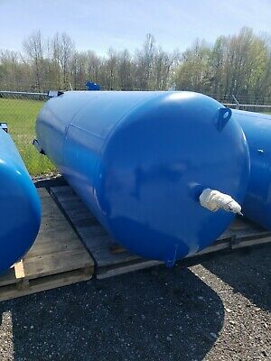 2500 Gallon Air Compressor Tank Pressure Vessel 3235mw
