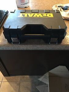 Dewalt 18v drill and case (no battery) $40