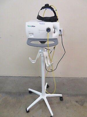 Welch Allyn Cl-100 Surgical Illuminator Light Source Head Lamp Cart Inv 2661