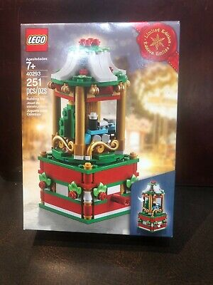 LEGO New 40293 Seasonal Carousel Limited Edition 2018 Christmas NISB in Box