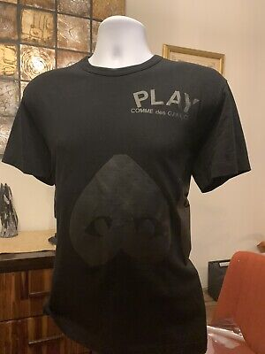 Comme Des Garcons Play Heart Shaped Face Tee Shirt Size (Square Heart Shaped Face)