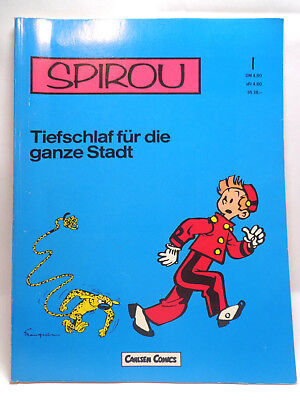Comic - Spirou Bd.1 - Tiefschlaf für die ganze Stadt (Carlsen Verlag)